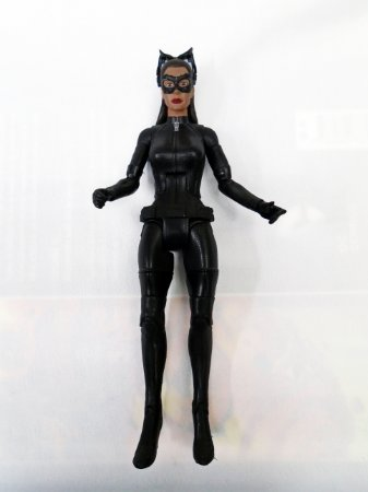 Mattel DC Batman TDKR Movie Masters Catwoman (Mulher Gato) Loose