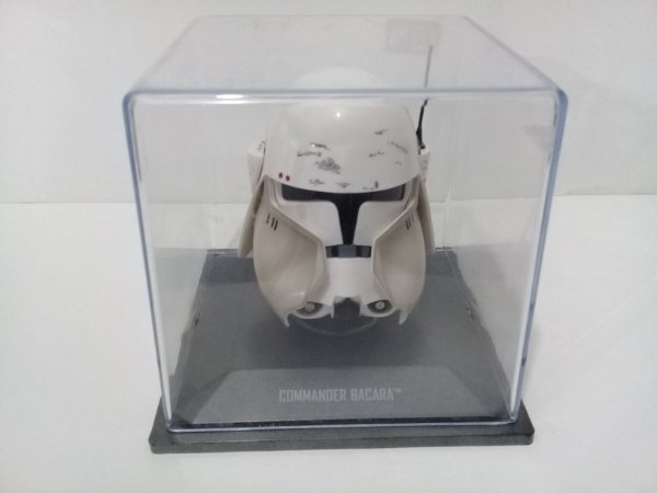 Star Wars Capacete Commander Bacara Planeta DeAgostini