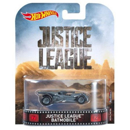 Hot Wheels Liga da Justiça Batmóvel DC 1/64