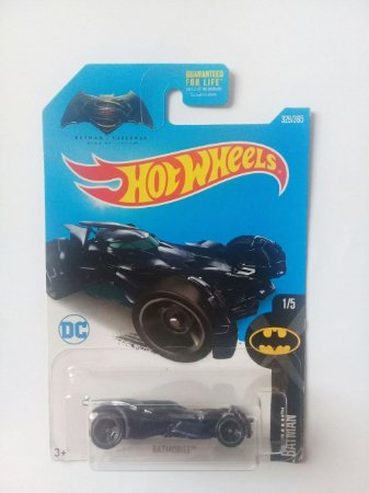 Hot Wheels DC BVS - Batman Batmóvel 1/64