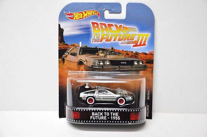 Hot Wheels De Volta para Futuro 3 Delorean 1/64
