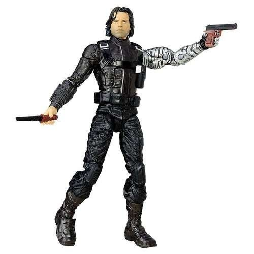 Hasbro Marvel Legends Bucky Soldado invernal Loose