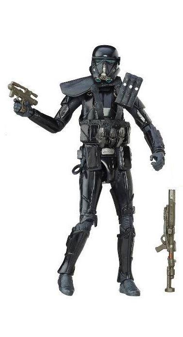 Hasbro Star Wars Rogue One Black Series Death Trooper (do Pack Triplo) Loose
