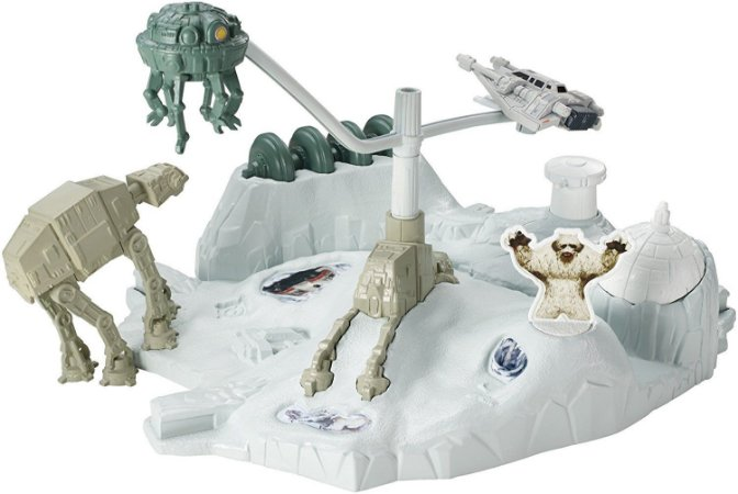 Hot Wheels Star Wars Hoth Echo Base Batlle