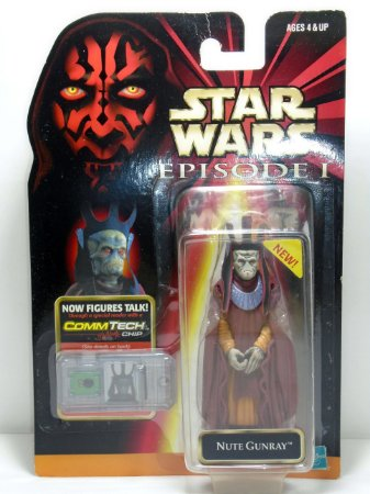 Star Wars Episódio 01 Nute Gunray Hasbro