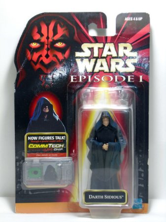 Star Wars Episódio 01 Darth Sidious Hasbro