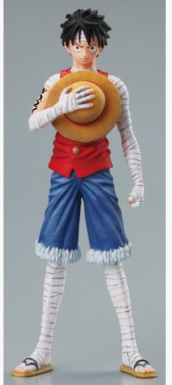 One Piece Super Styling Luffy Marine Ford  Trading Art Bandai