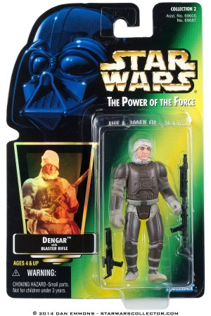 Star Wars Dengar Power of the Force Kenner