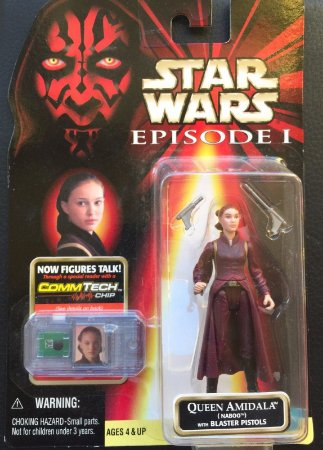 Star Wars Episodio 1 Queen Amidala (Naboo) Hasbro