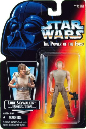 Star Wars Luke Skywalker in Dagobah Power of the Force Kenner