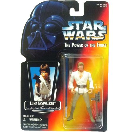 Star Wars Luke Skywalker Grapping-Hook Power of the Force Kenner
