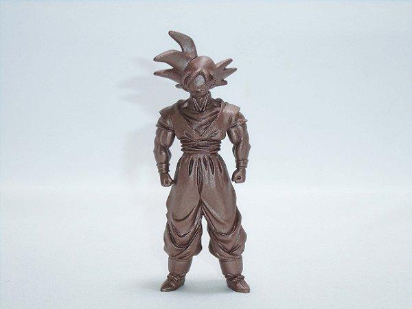 Dragon Ball Z  Gashapon Goku cor de Bronze