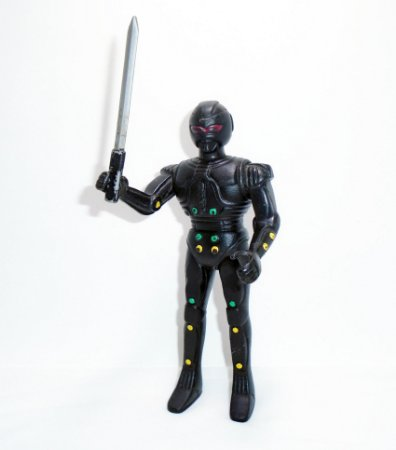 Jaspion Glasslite  Mcgarren com espada Vintage