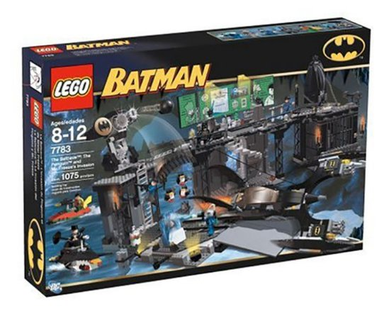 Lego Batman 7783 The Batcave Invasion 1075 PÇS  Raro