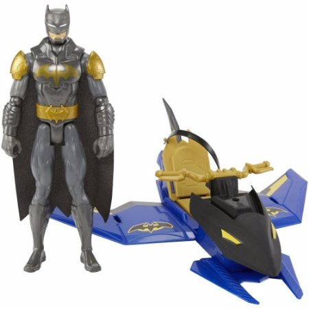 Mattel DC Batman & Batjato/Batjet 29 cm