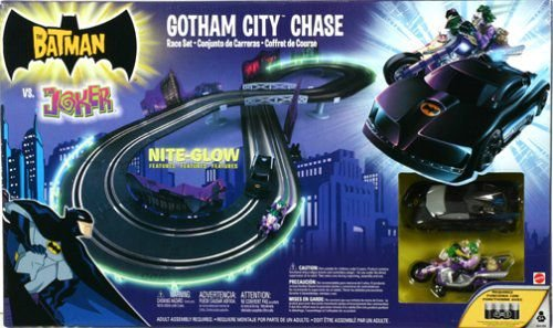 Hot Wheels Batman Gothan City Chase Race Set Autorama