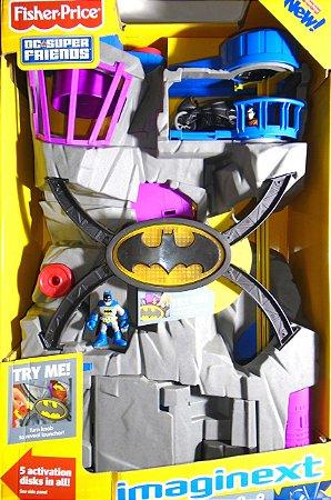 Batcave Imaginext Dc Super Friends Fisher-Price