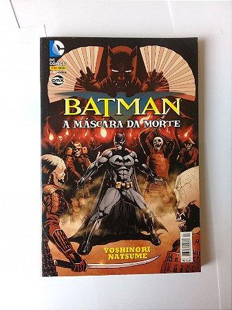 Batman A Máscara da Morte Ed Panini