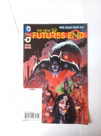 Free Comic Book Day Futures End #0