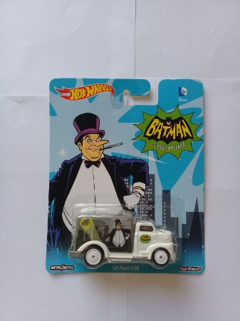 Hot Wheels Pinguim Batman Classic Tv Series