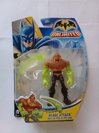 Mattel DC Batman Sem Limites Blade Atack Scarecrow
