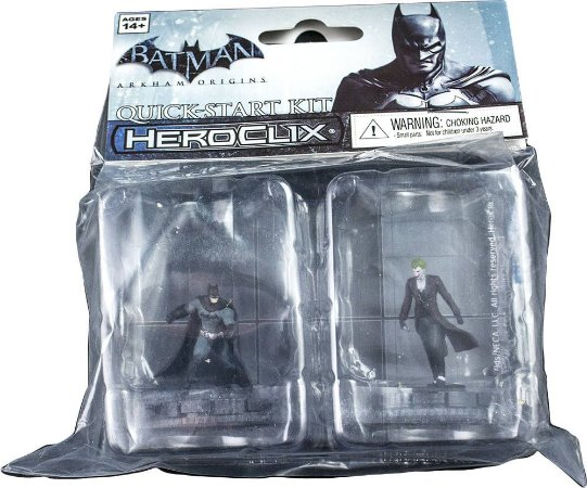 DC HeroClix Batman: Arkham Origins Quick-Start Kit 2-Pack