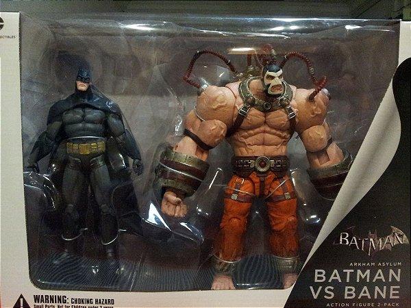 Batman Vs Bane Arkham Asylum