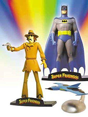 DC Direct Batman e Espantalho Super Friends