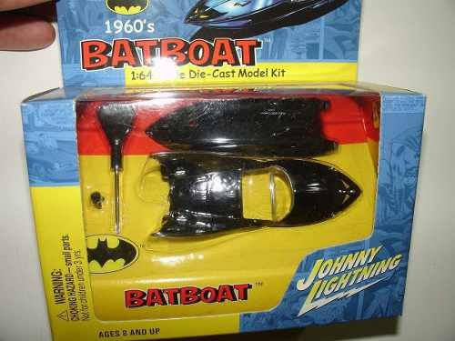 Batboat Johnny Lightning Die-Cast Metal - Batman