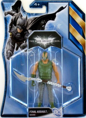 Mattel Batman TDKR Final Assault Bane
