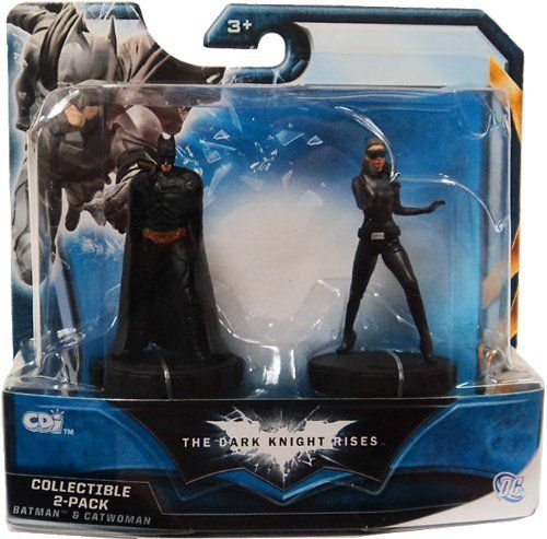 DC TDKR Batman & Catwoman Collectible 2-Pack CDI