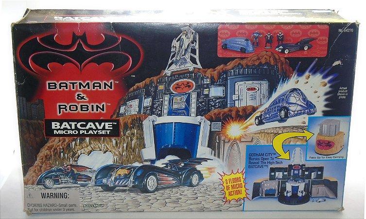 Kenner 1997 Batman & Robin Batcave Microplayset Vintage - Raro