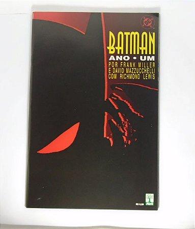 Batman Ano Um Encadernado Capa Comum