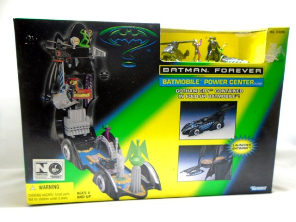 Kenner 1996 Batmobile Power Center - Batman Forever - Playset
