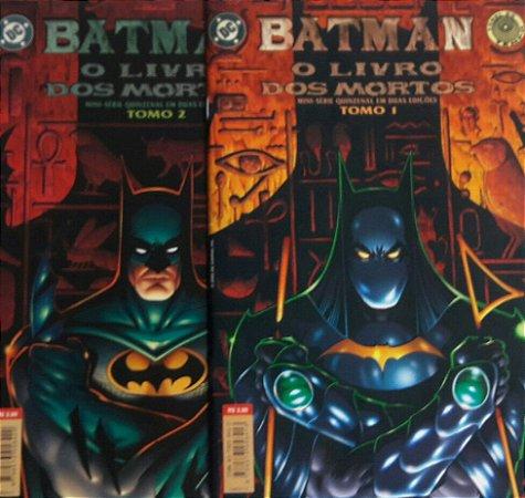 Batman O Livro dos Mortos Ed. Abril