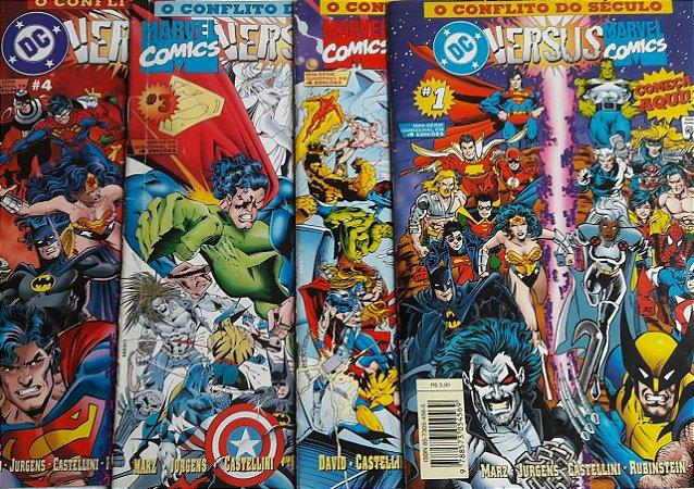 DC Versus Marvel Série 1 - Ed. Abril