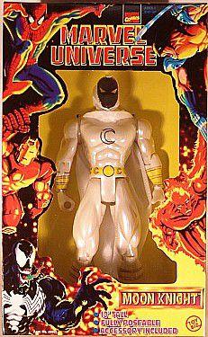 Toy Biz Moon Knight (Cavaleiro da Lua) 25 Cm Marvel Universe 1997