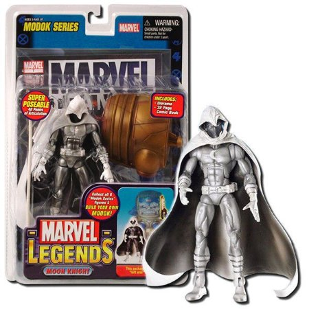 Marvel Legends Moon Knight (Cavaleiro da Lua) BAF Modok Toy Biz