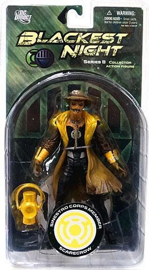 Mattel Dc Direct Blackest Night Scarecrow (Espantalho) Series 8