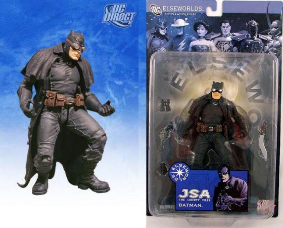 Mattel DC Direct JSA The Liberty Files Batman Series 4