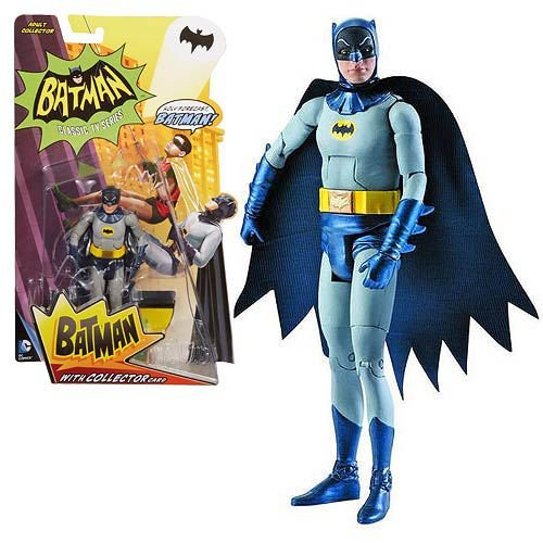 Mattel Batman Classic Tv Series 1966 Batman Adam West