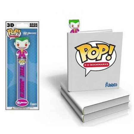 Funko Pop! Joker (Coringa) 3D Book Mark (Marcador de livro 3D)