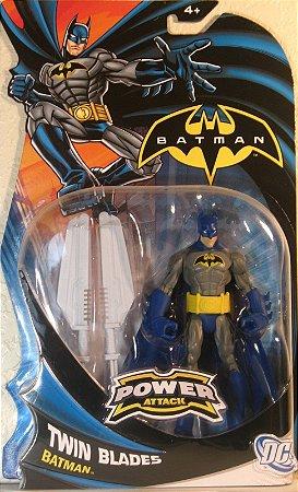 Mattel Batman Power Attack Twin Blades