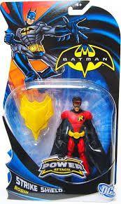 Mattel Batman Power Attack Robin Strike Shield