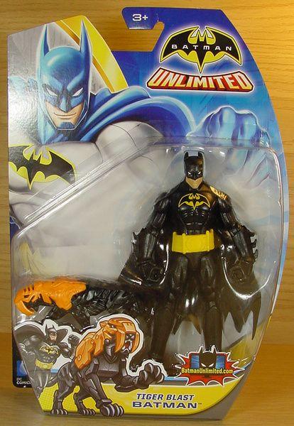 Mattel DC Batman Unlimited Tiger Blast Batman
