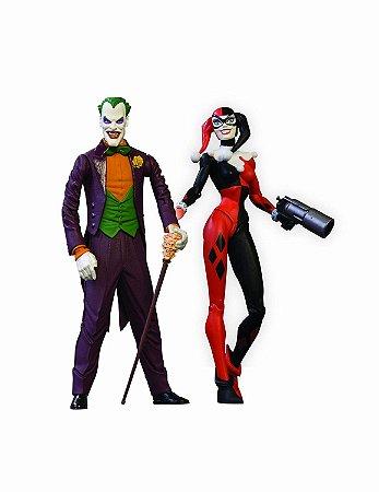 Mattel DC Direct Batman Mad love Collector Set