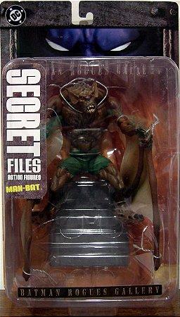 DC Secret Files Batman Rogues Gallery Man-Bat Figure