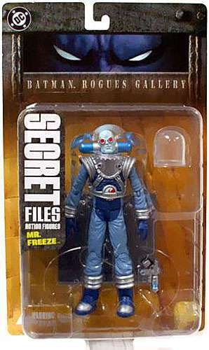 Dc Direct Secret Files Batman Rogues Gallery Mr. Freeze (Senhor Frio)