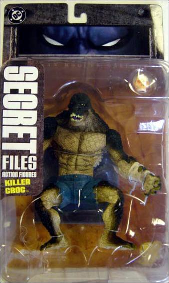 Dc Direct Secret Files Batman Rogues Gallery Killer Croc (Crocodilo)