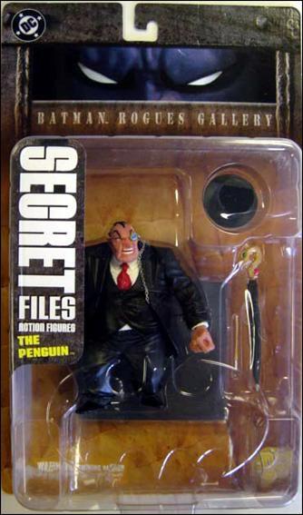 Dc Direct Secret Files Batman Rogues Gallery The Penguin (Pinguin)